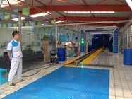 Sistema automático da lavagem de carros do túnel exportadores