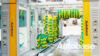 China Equipamento de lavagem de carro com três ventiladores de soprador de secagem, sobreposição de lavar sistemas fábrica